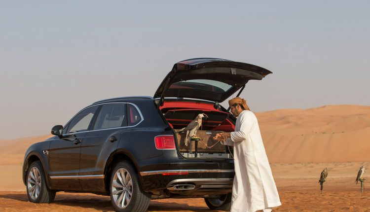 "Bentley ""Bentayga Falconry"" by Mulliner"