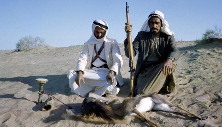 رحلة صيد  بالقرب من العين في الإمارات العربية المتحدة